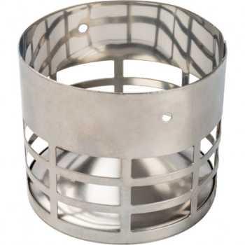Stout Элемент дымохода решетка из нержавеющей стали DN80 для дымоотводящей трубы SCA-0080-010004