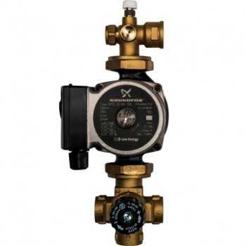 Stout Насосно-смесительный узел с термостатическим клапаном; Grundfos UPSO 25-65 130 SDG-0020-001002