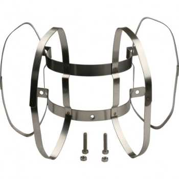 Stout эл-т дымохода фиксатор c распорками для соединений  PP-труб O80 (в шахте дымохода). нерж.сталь. SCA-8610-088002