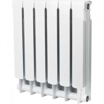Stout Space 500 6 секций радиатор биметаллический боковое подключение SRB-0310-050006